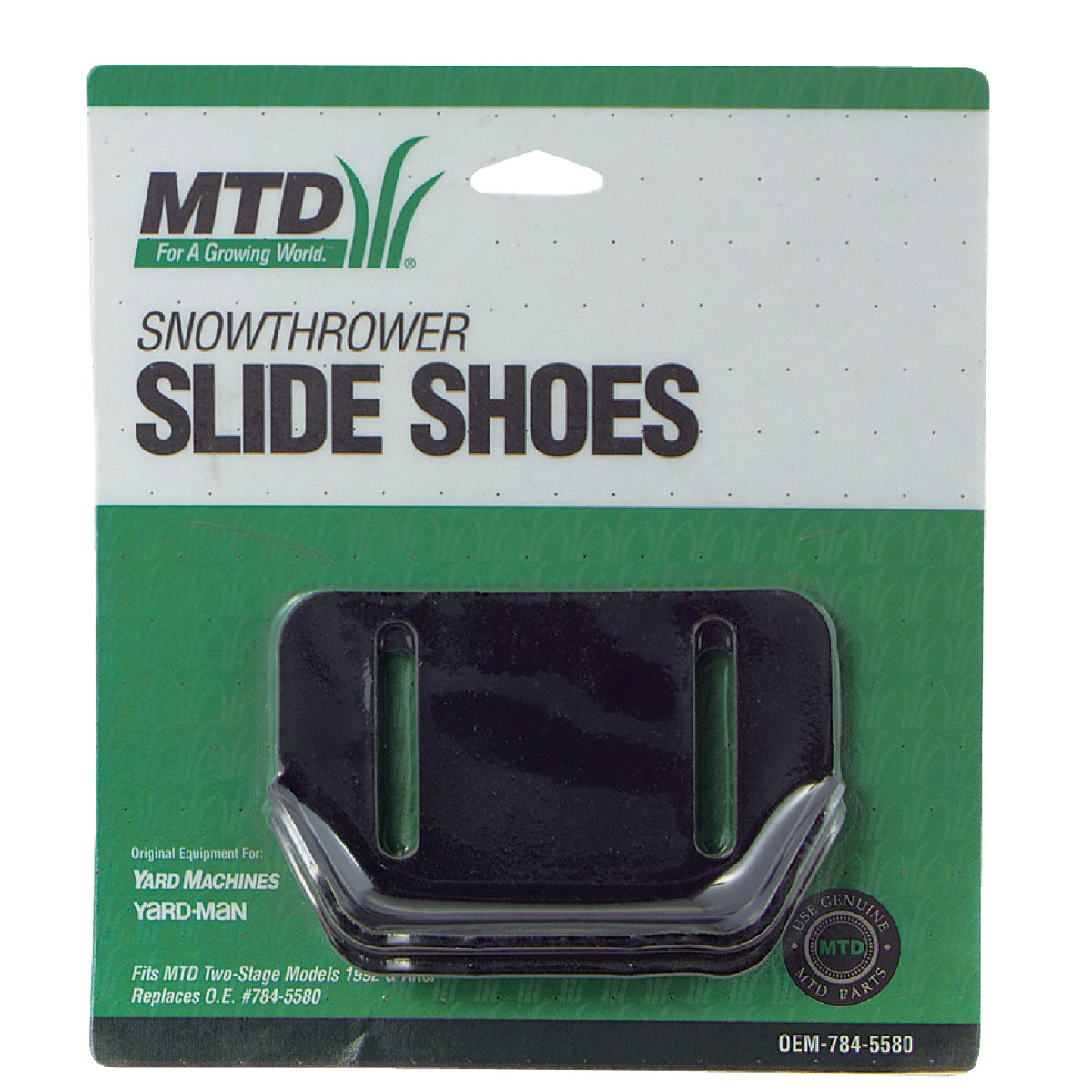 MTD SNOWTHRW SLIDE SHOES - OEM-784-5580 by Arnold Corp