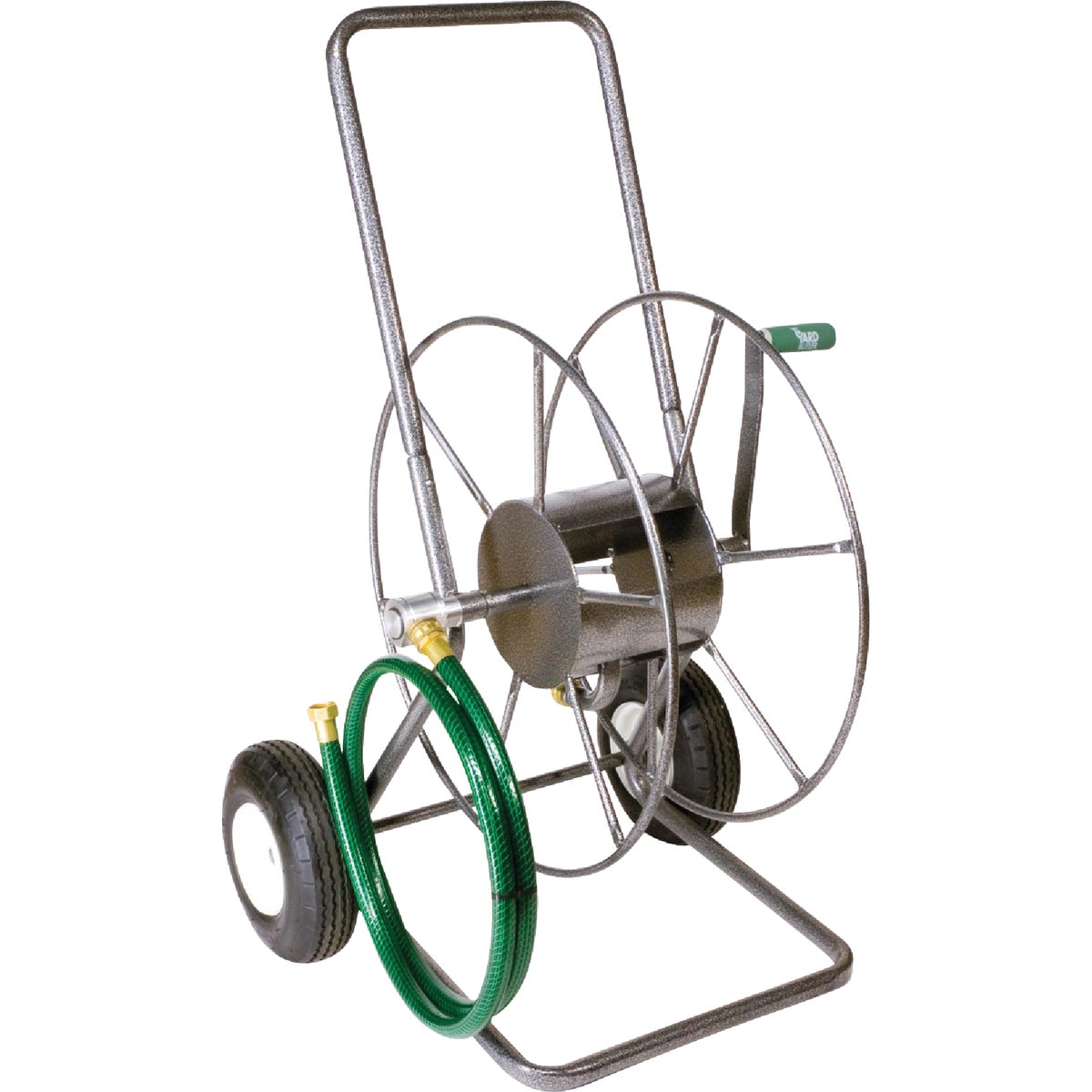 2 WHEEL METAL HOSE REEL - HT2EZ by Lewis Lifetime Tools