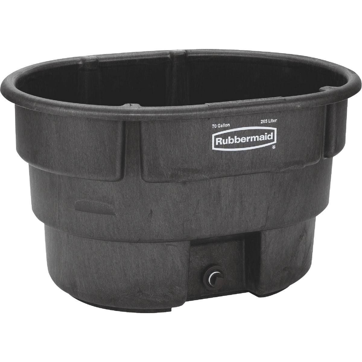70GAL STOCK TANK - FG424400BLA by Rubbermaid Comm Prod