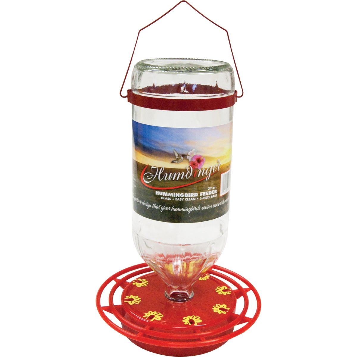 32OZ HUMMINGBIRD FEEDER - 105 by Turbine Industries