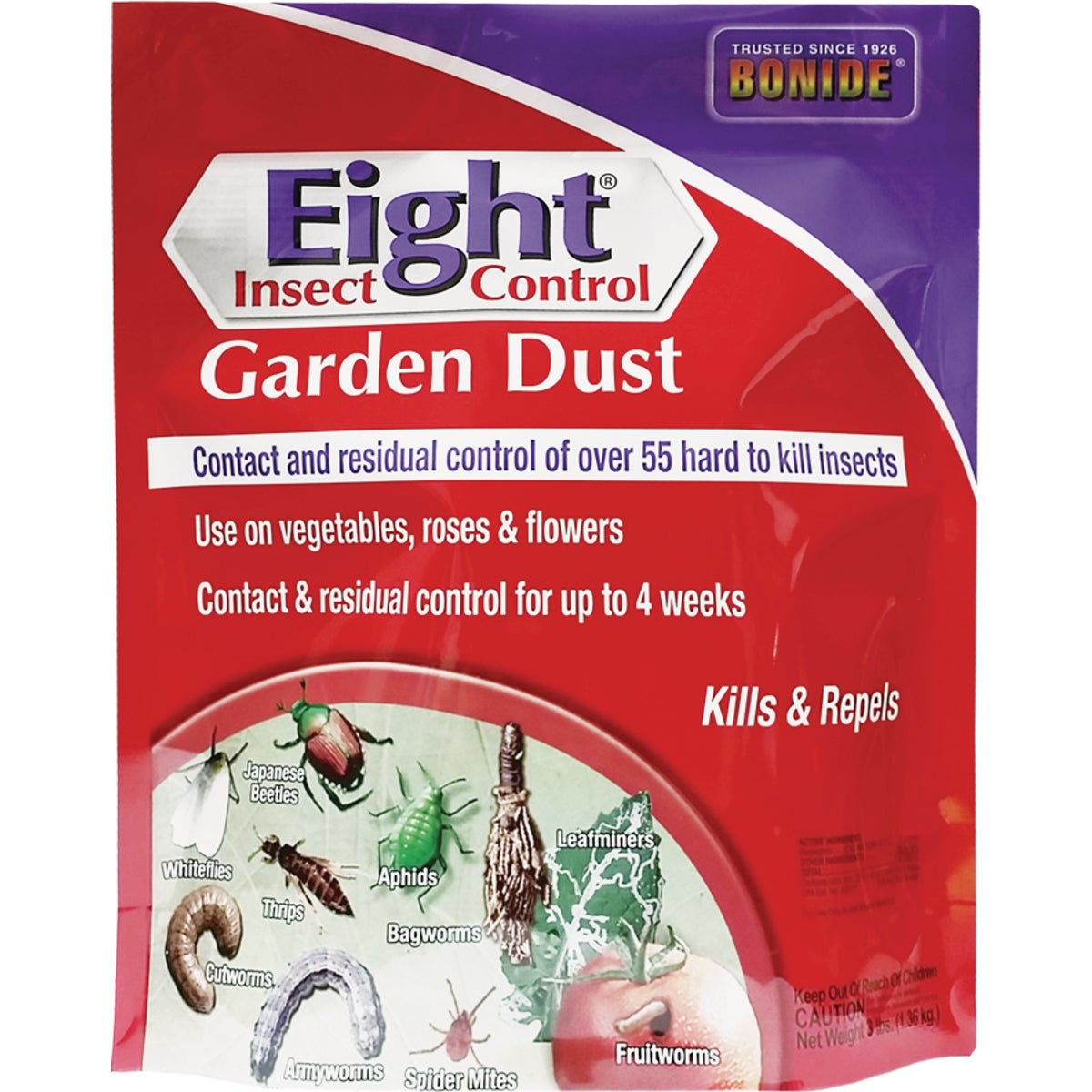 3LB EIGHT GARDEN DUST - 786 by Bonide