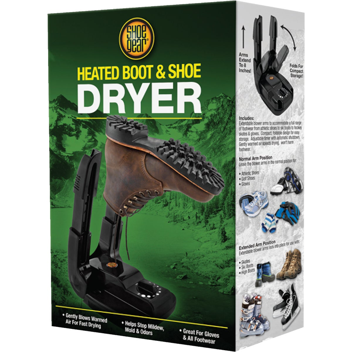 HEATED BOOT DRYER