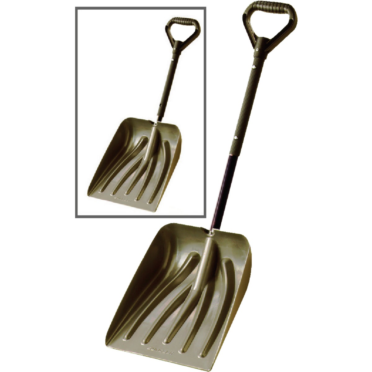 TELSCOP POLY CAR SHOVEL