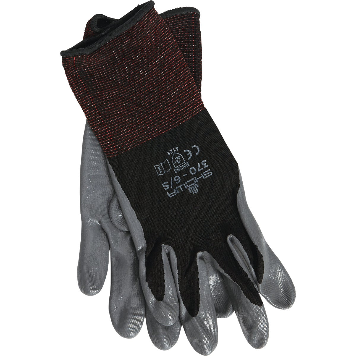 SML BLK NITRILE GLOVE - 370BS-06.RT by Showa Best Glove