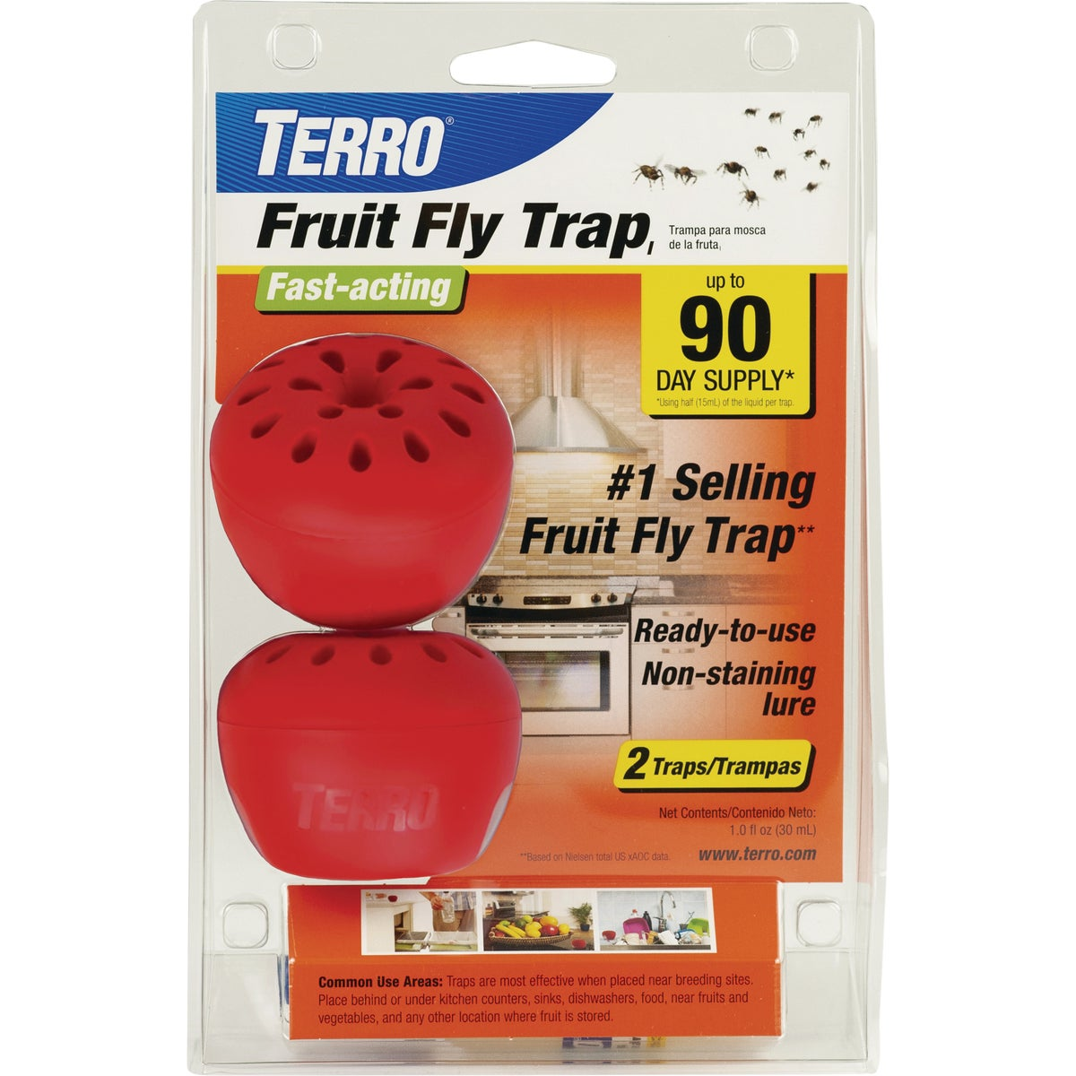 TERRO FRUIT FLY TRAP - T2500 by Woodstream Corp