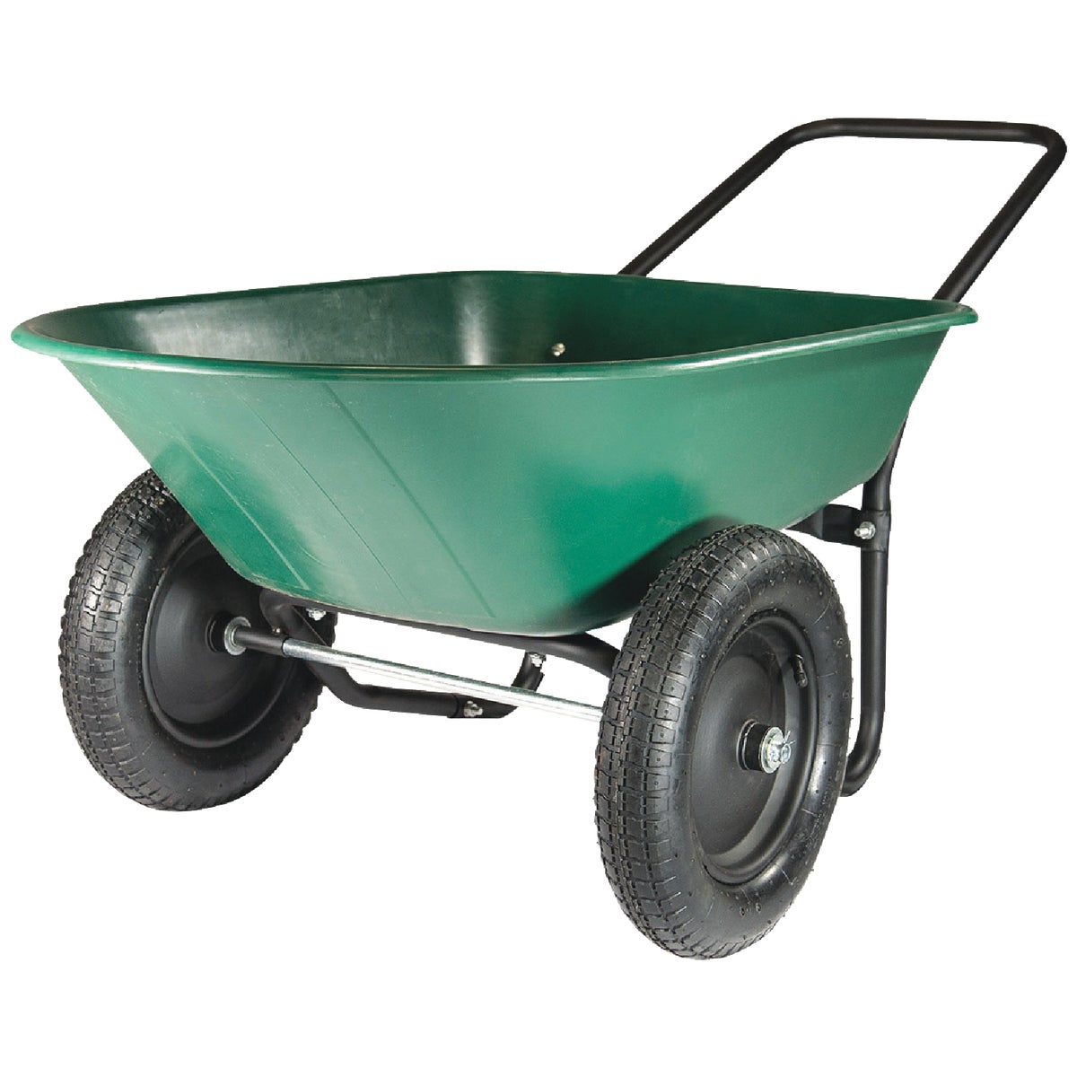 5CU FT POLY WHEELBARROW