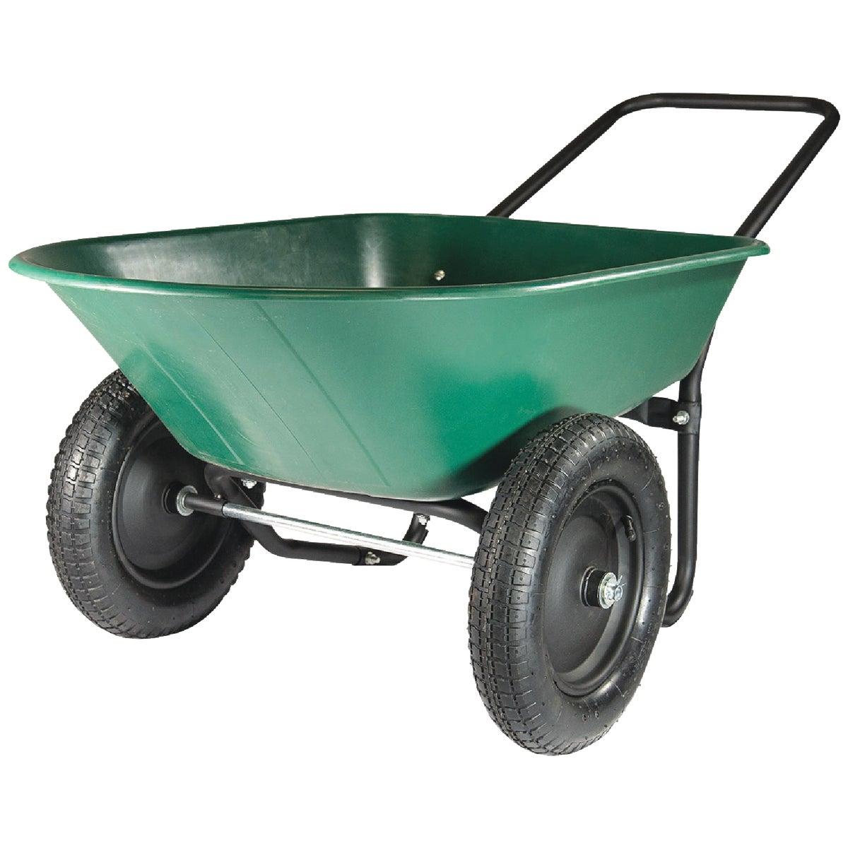 Marathon Yard Rover Poly Wheelbarrow, 70007