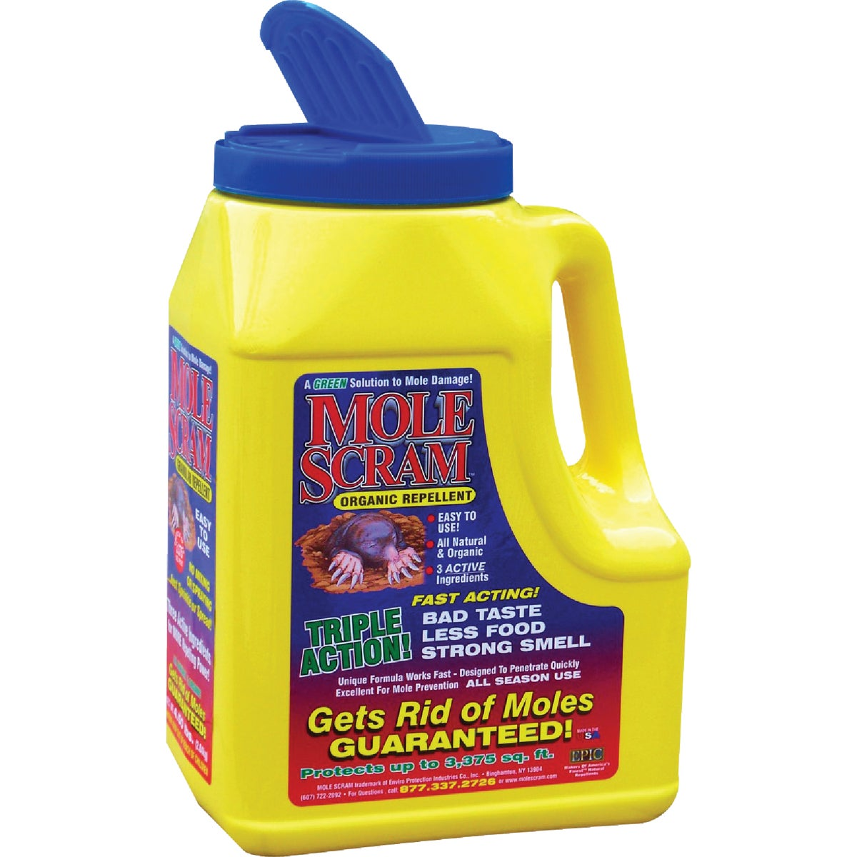 4.5# MOLE REPELLENT - 12004 by Enviro Protection