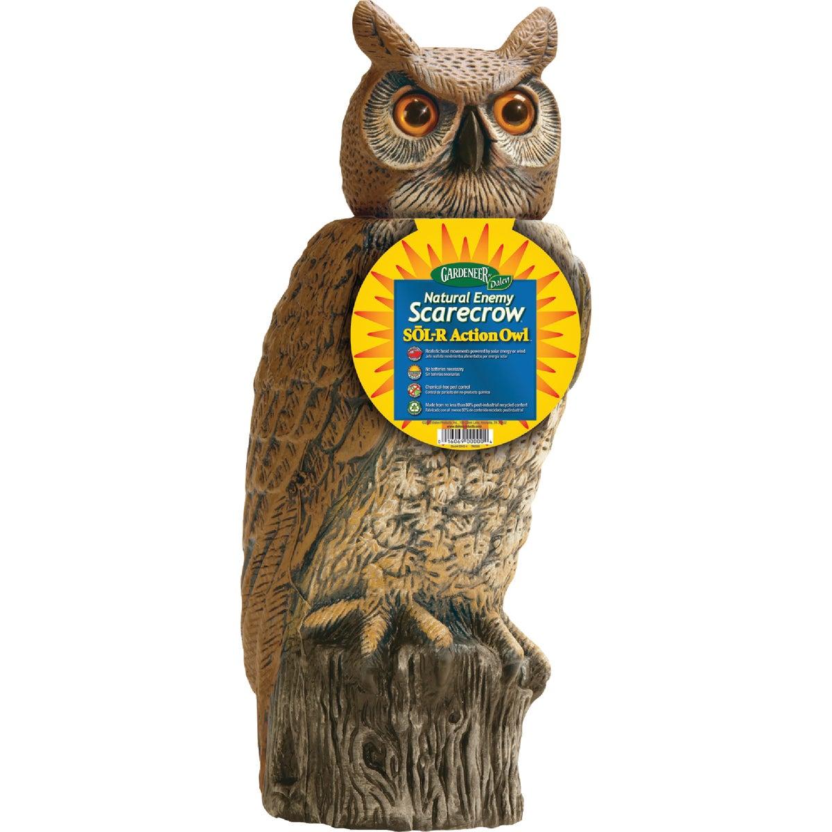 """18"""" SOLAR OWL SCARECROW"""