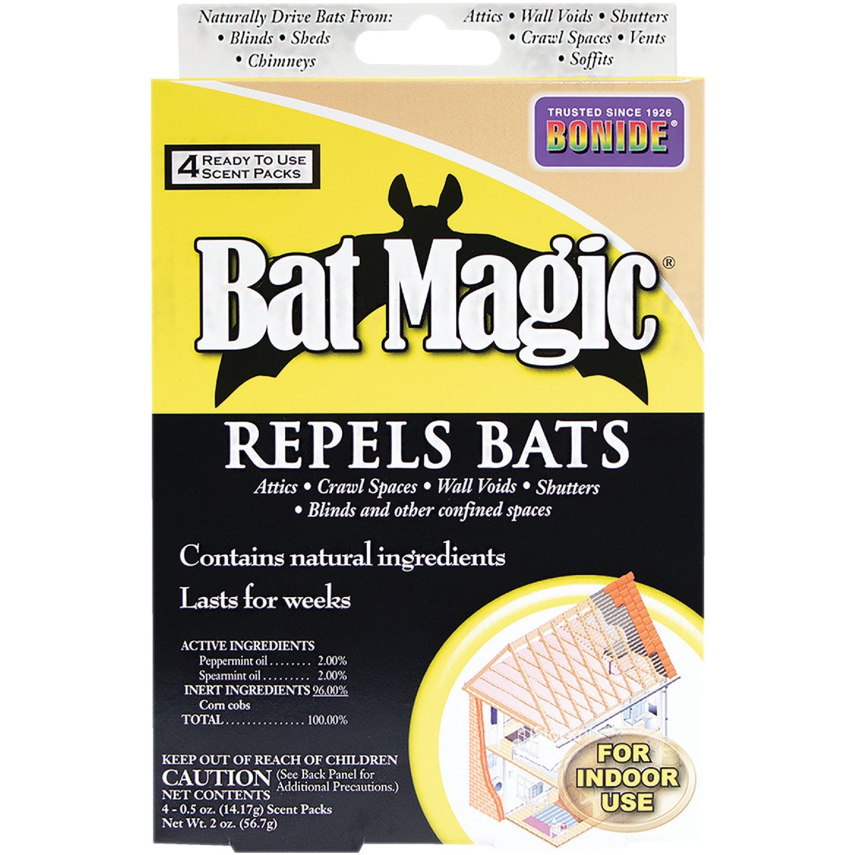 4PK BAT REPELLENT - 876 by Bonide