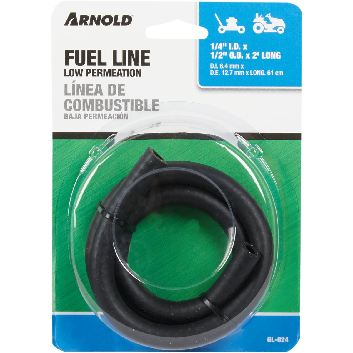 """2'X1/4"""" GAS LINE - GL-024 by Arnold Corp"""