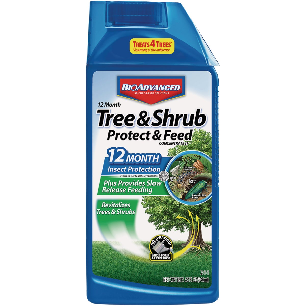 32OZ TREE & SHRUB CARE - 701810A by Bayer Advanced Llc