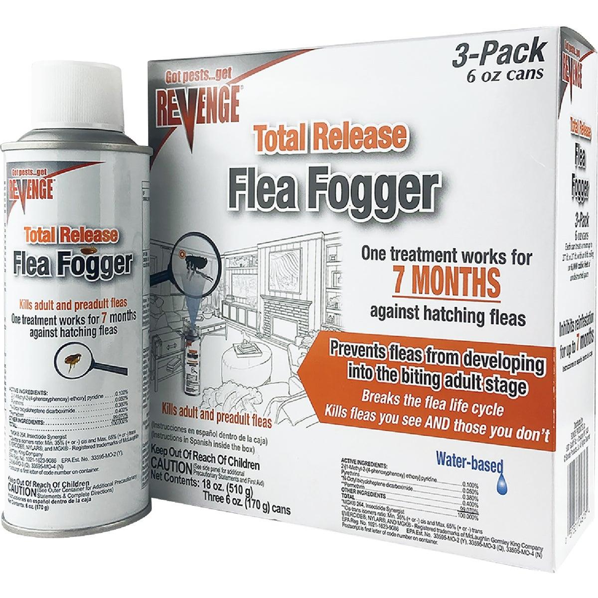 3PK FLEA FOGGER - 685 by Bonide