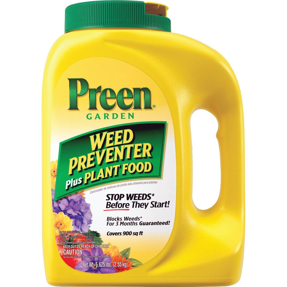 5.62#PREEN W/PLANT FOOD