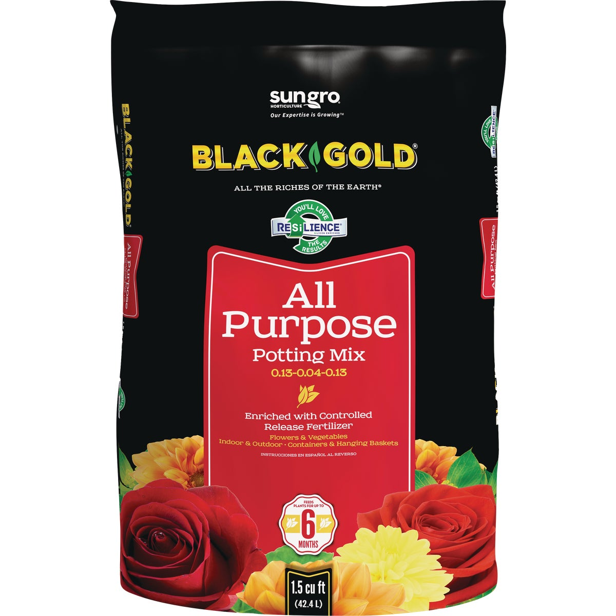 1.5CF ALL PURPOSE SOIL - 1410102.CFL001.5P by Sun Gro Horticulture