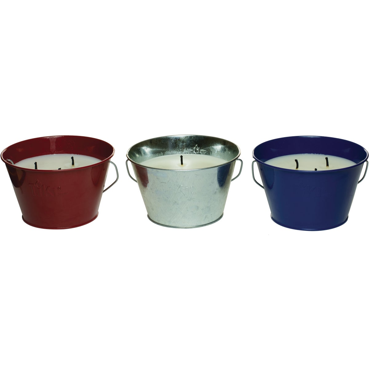 3 WICK CITRONELLA BUCKET - 1412112 by Lamplight Farms