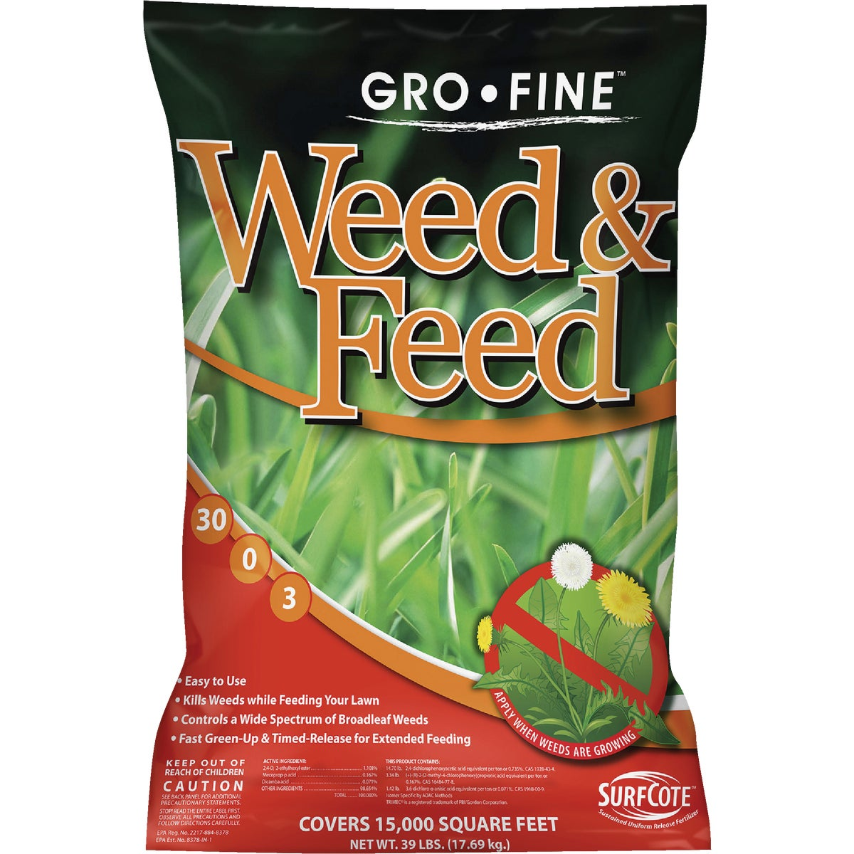 15M WEED & FEED P-FREE - FRT223DS5.1 by Andersons Lawn Gdn