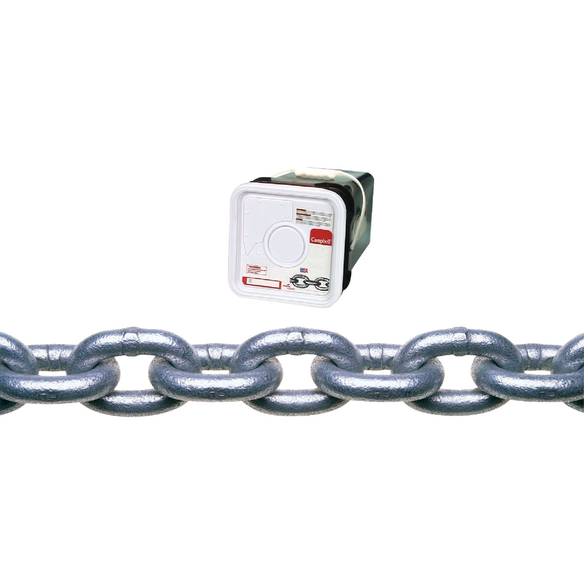 "75' 5/16"" G30 GALV CHAIN - 0143536 by Cooper Campbell Apex"