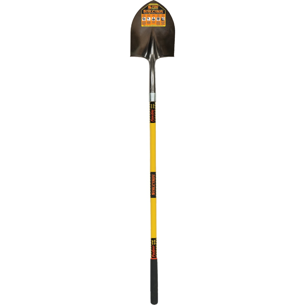 LONG HDL RND PT SHOVEL - 49730 by Seymour Mfg Co