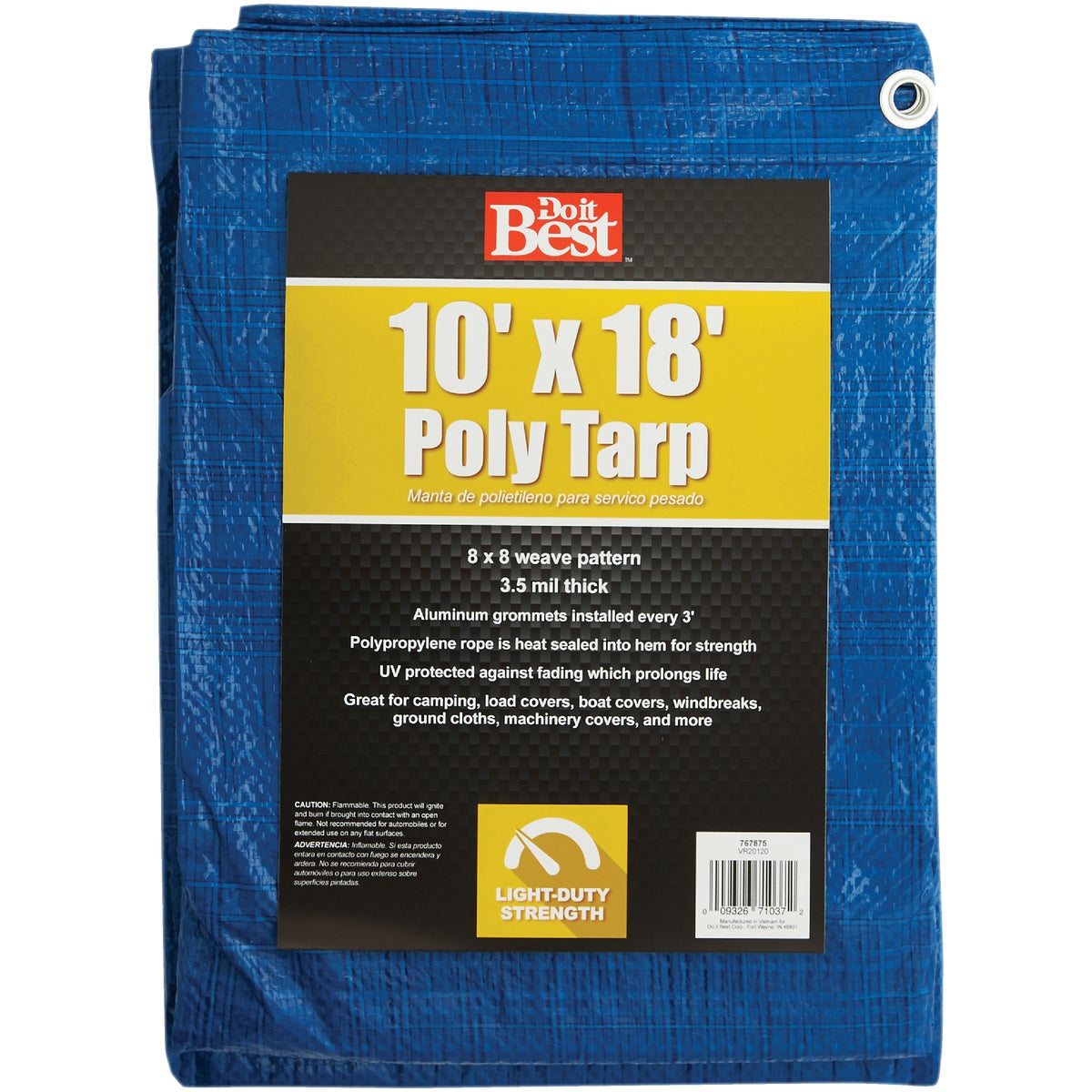 10X18 BLUE AP TARP - 767875 by Do it Best