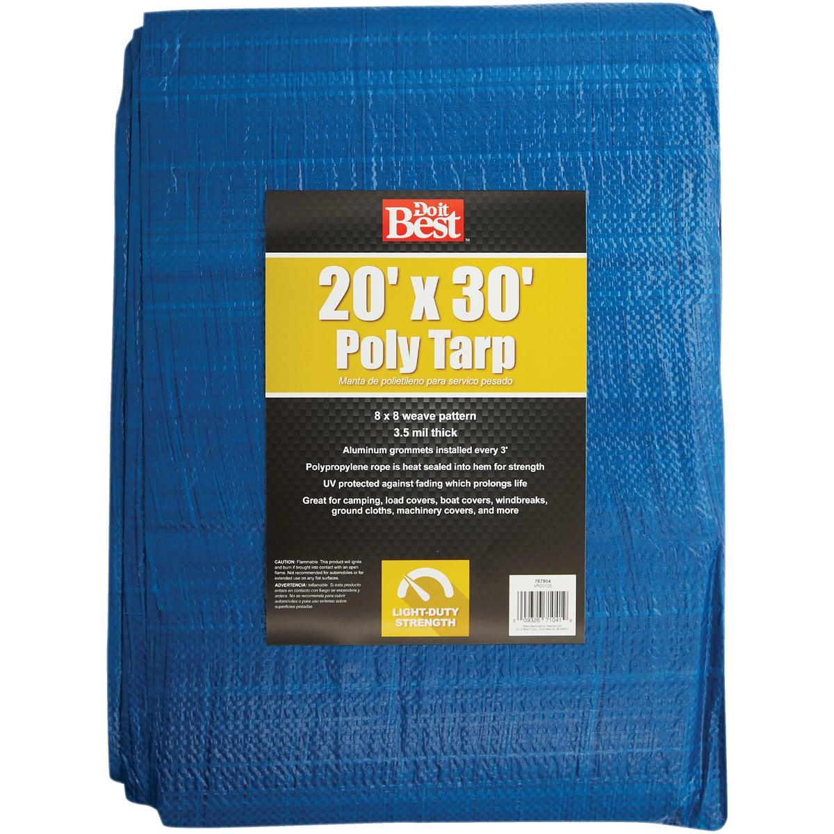20X30 BLUE AP TARP