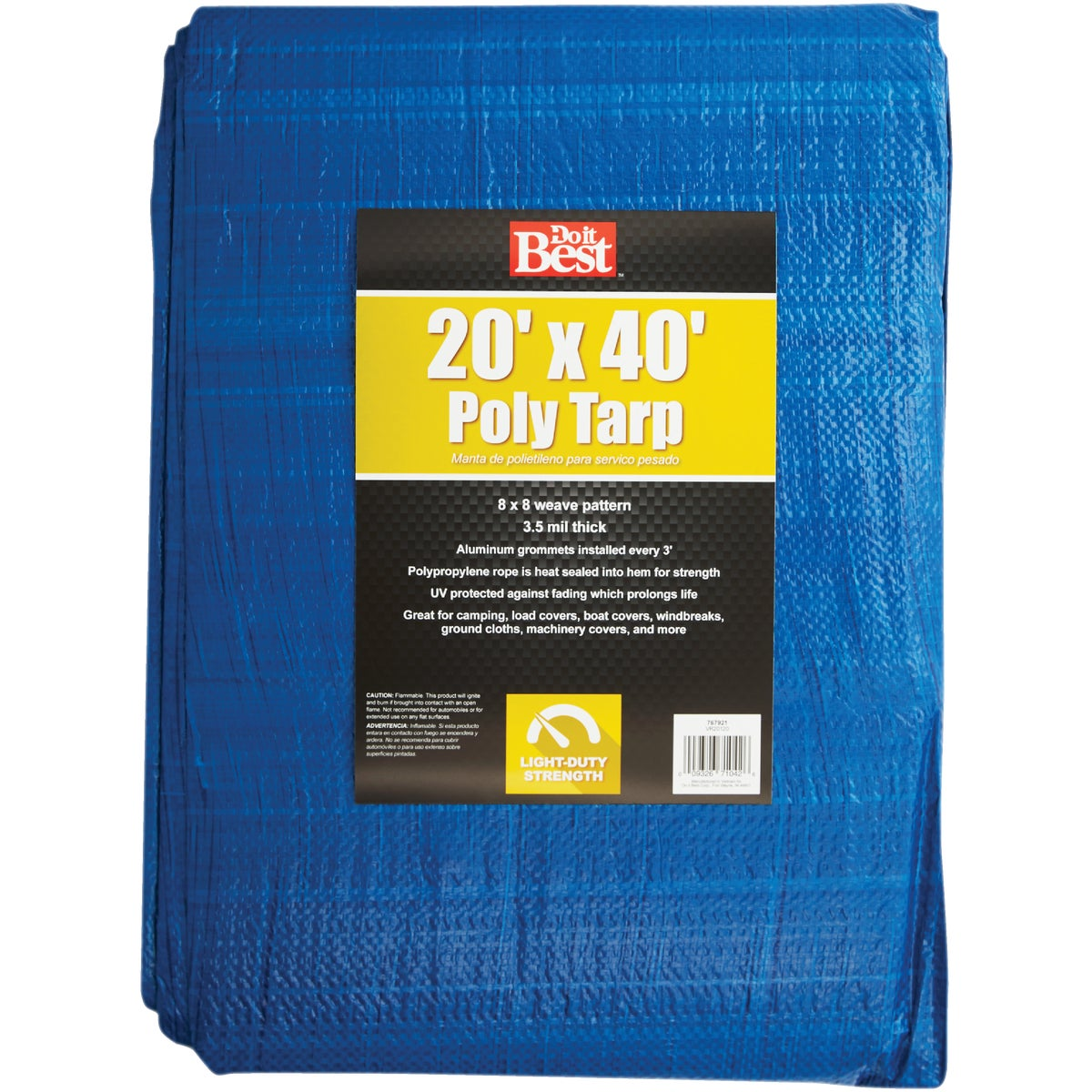 20X40 BLUE AP TARP - 767921 by Do it Best