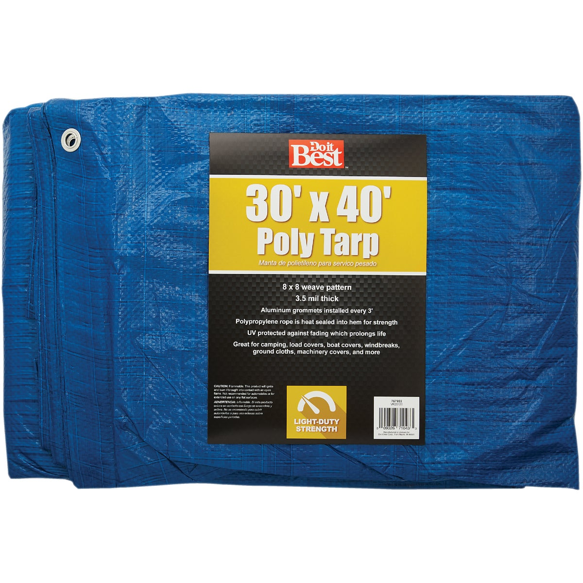 30X40 BLUE AP TARP