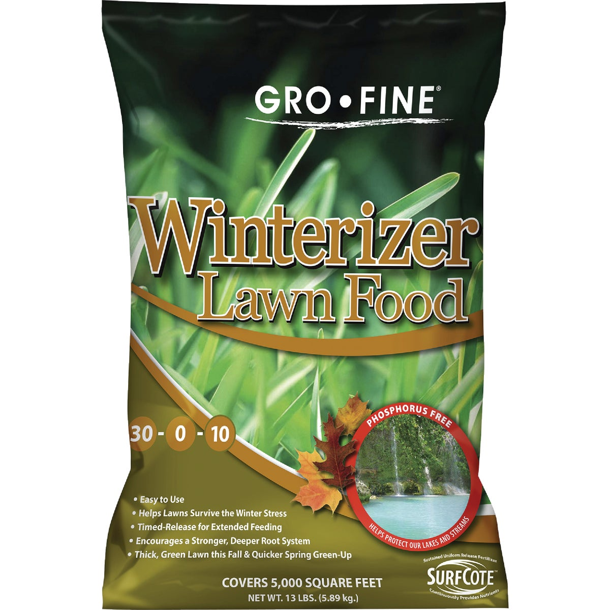 5M WINTERIZER P-FREE - FRT183FE16 by Andersons Lawn Gdn