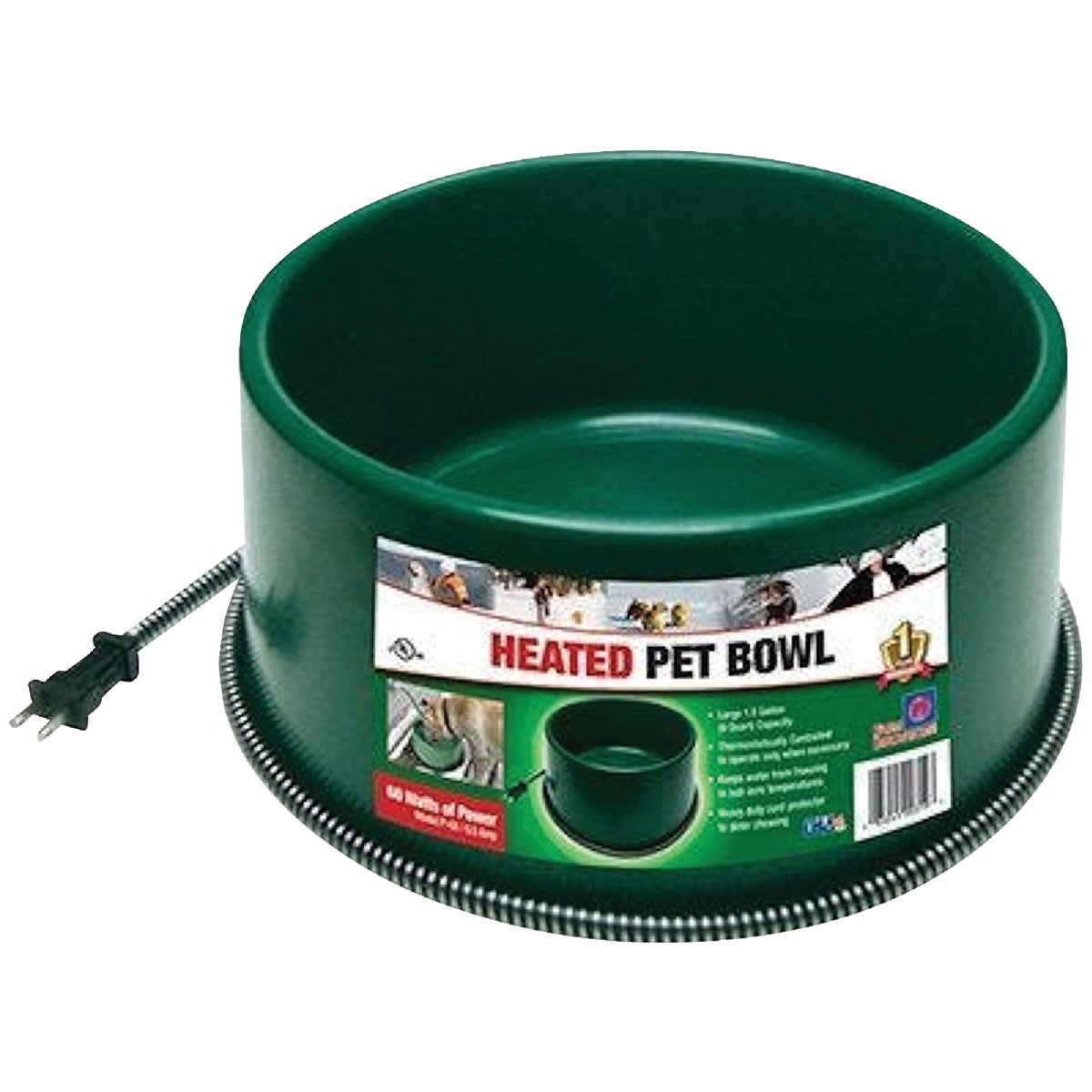 5QT HEATED PET BOWL