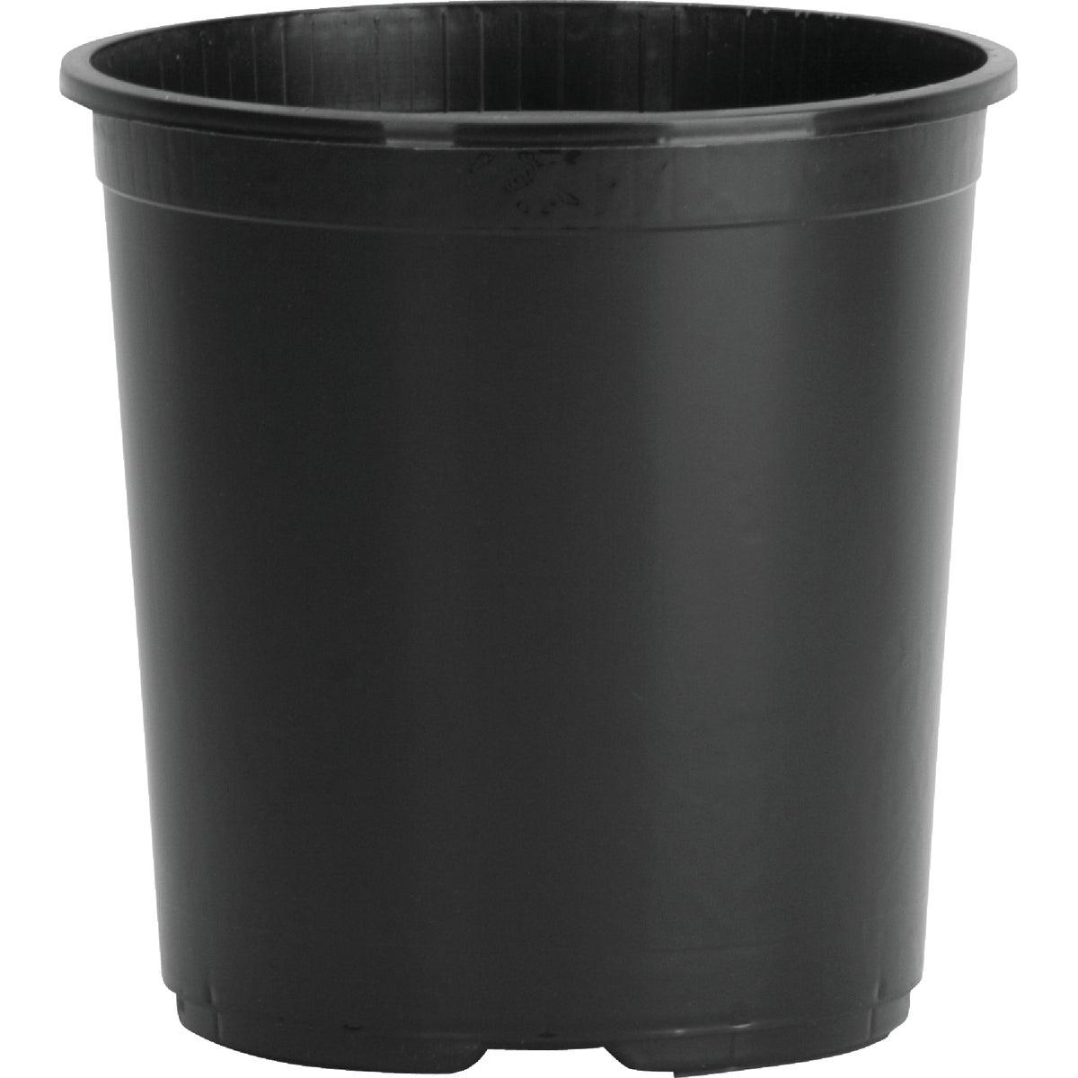 3 GAL BLACK SQUAT POT