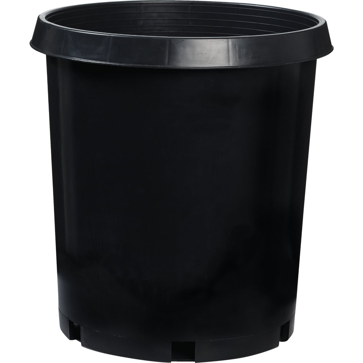 7 GAL BLACK SQUAT POT - NCS07000G18 by Myers Industries Inc