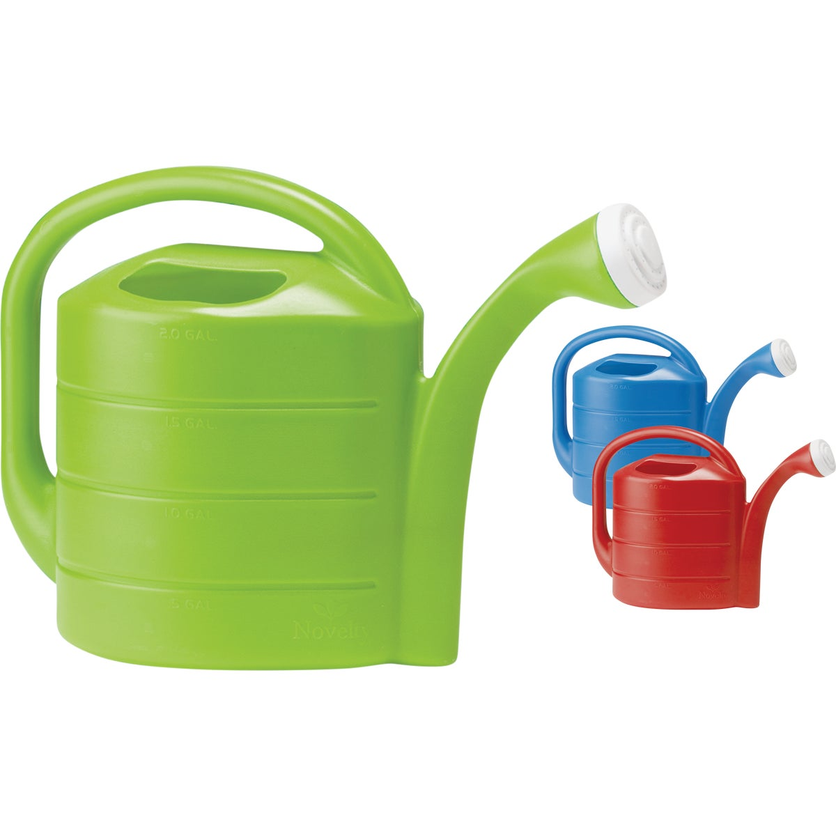 2G AST POLY WATERING CAN - 30408 by Novelty Mfg Co