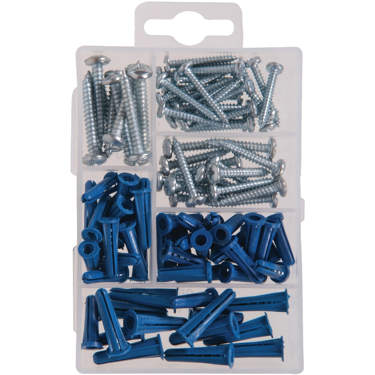 KIT SCREWS AND ANCHORS - 130201 by Hillman Fastener