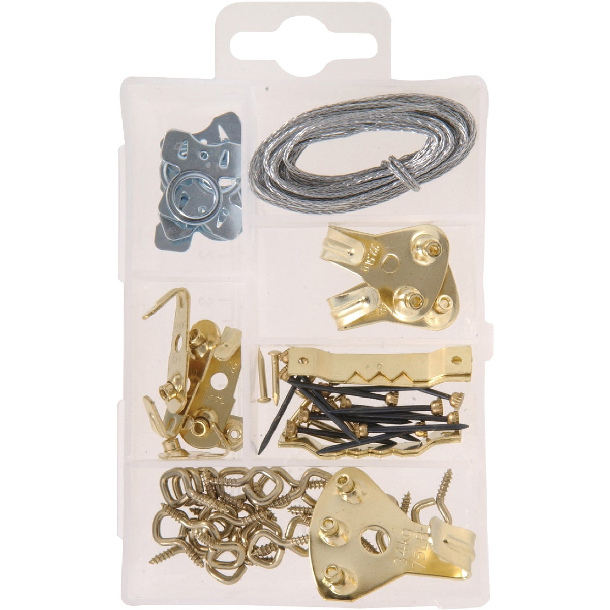 KIT PICTURE HANGERS SM - 130200 by Hillman Fastener