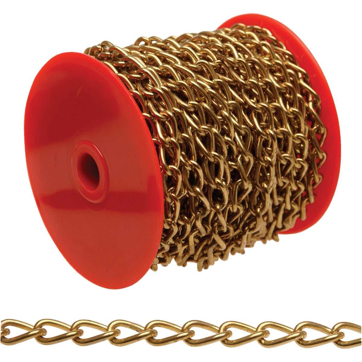 33' #250 BRS TWIST CHAIN - 0712517 by Cooper Campbell Apex