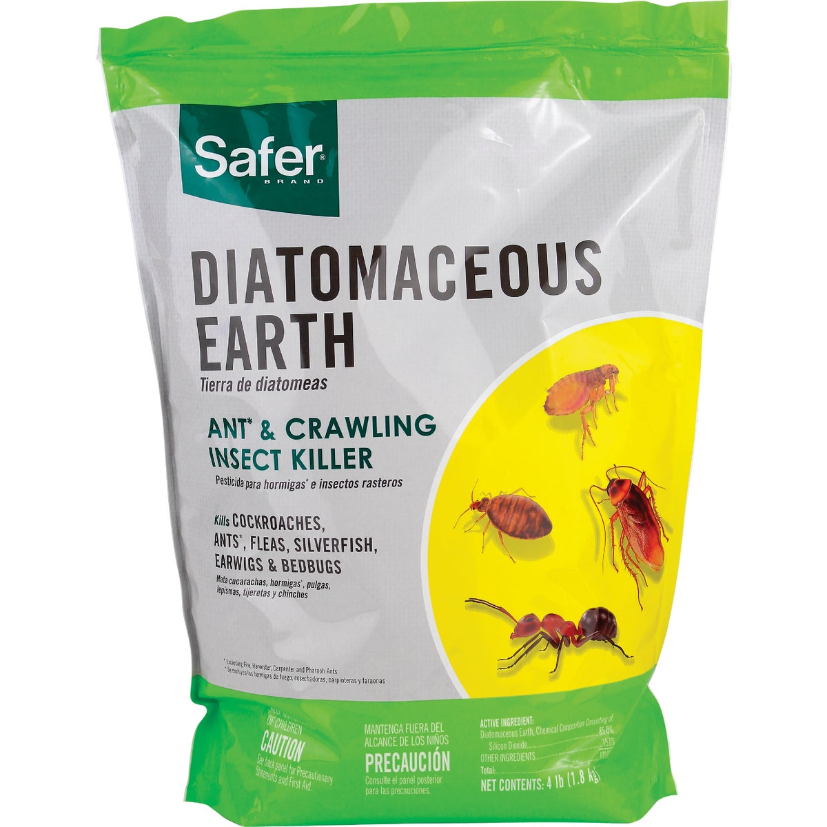 4LB DIATOMACEOUS EARTH - 51702 by Woodstream Corp