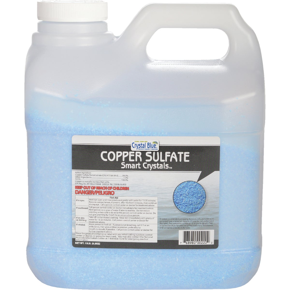 15LB COPPER SULFATE - 00222 by Sanco Industries Inc