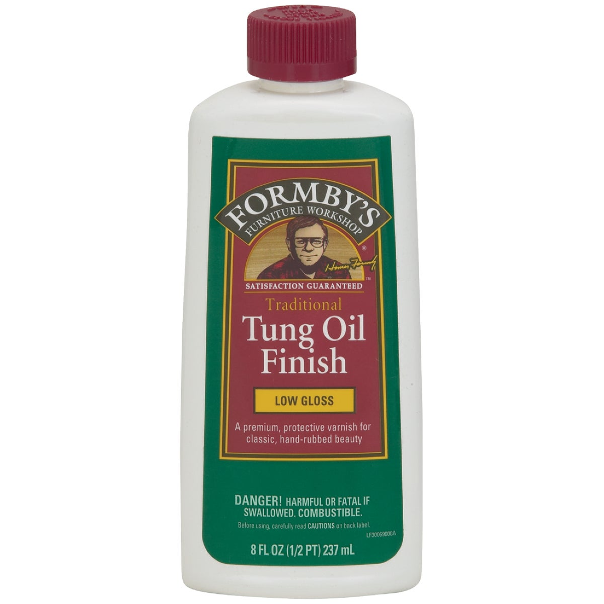 8OZ LOW-GLOSS TUNG OIL - 30069 by Minwax Company