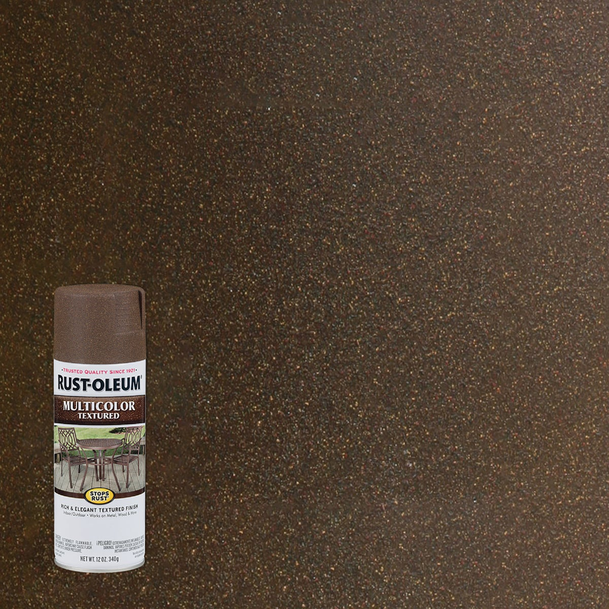 AUTUMN BROWN SPRAY PAINT - 223523 by Rustoleum