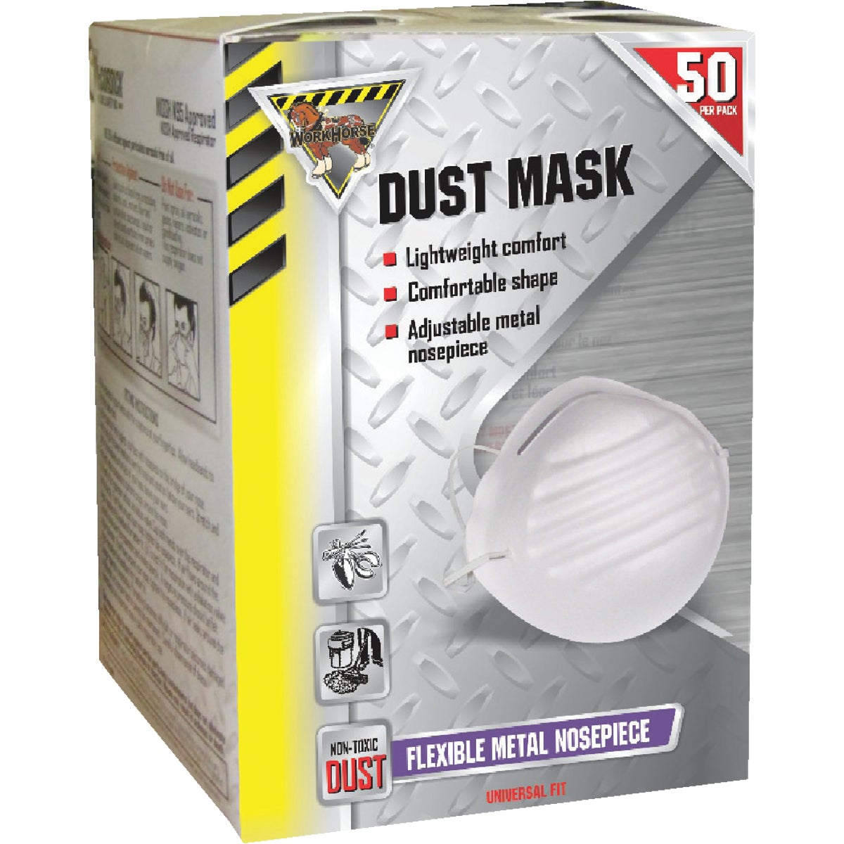 50PK DUST MASK - 770116 by Mccordick Glove