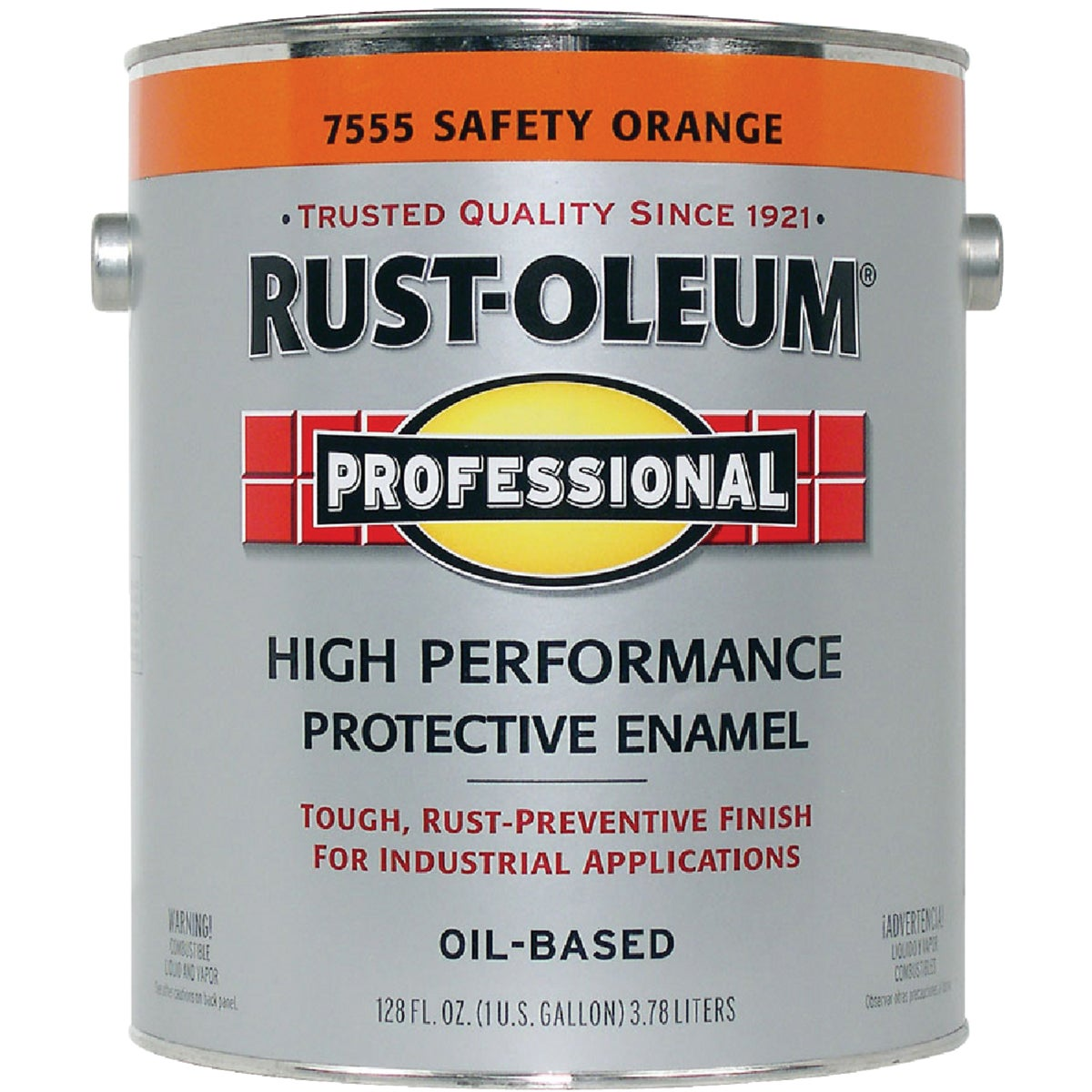 VOC SAFETY ORANGE ENAMEL - 245477 by Rustoleum