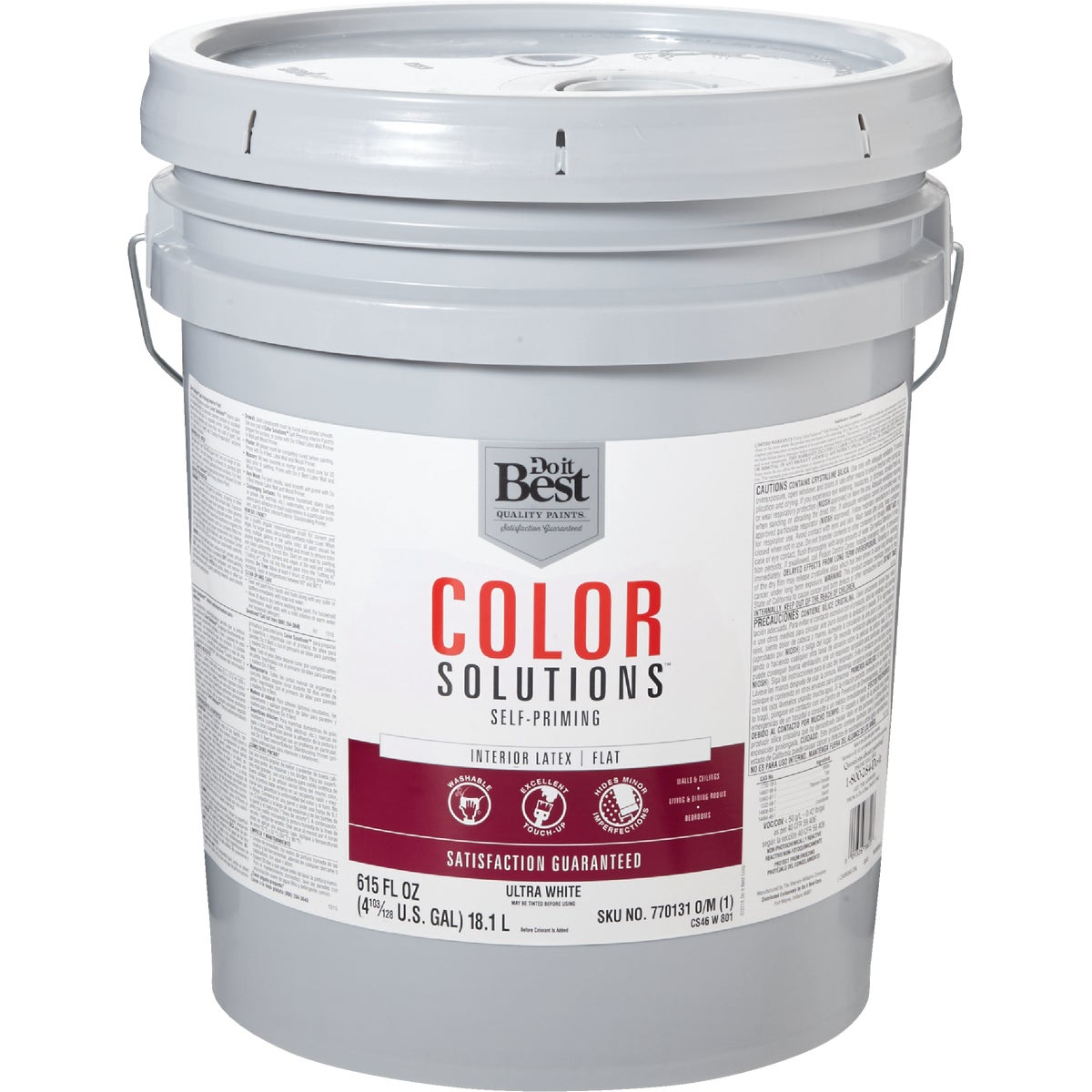 INT FLAT ULTRA WHT PAINT - CS46W0801-20 by Do it Best