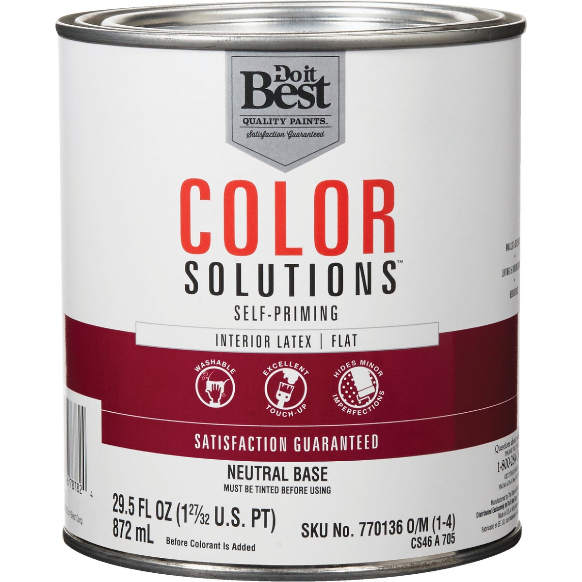 INT FLT NEUTRAL BS PAINT - CS46A0705-14 by Do it Best