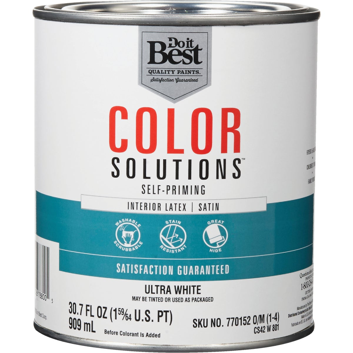 INT SAT ULTRA WHT PAINT - CS42W0801-14 by Do it Best