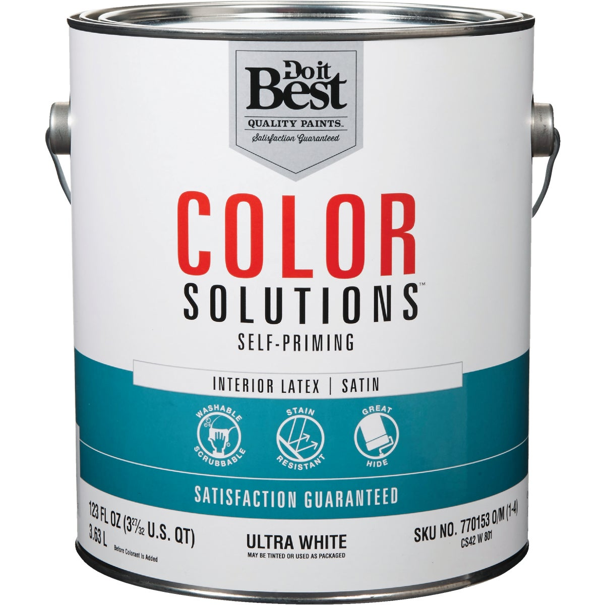 INT SAT ULTRA WHT PAINT - CS42W0801-16 by Do it Best