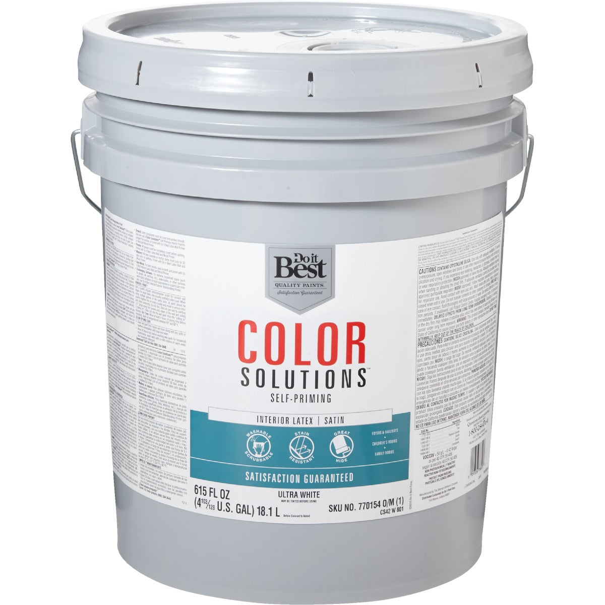 INT SAT ULTRA WHT PAINT - CS42W0801-20 by Do it Best