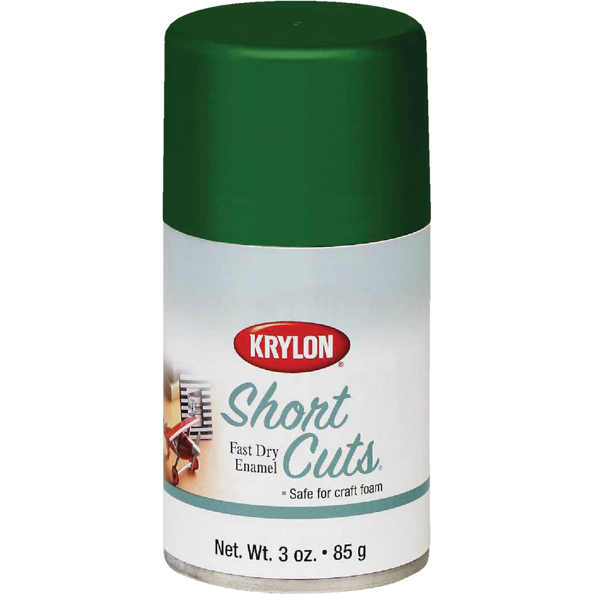 LEAF GREEN SPRAY ENAMEL - SCS-046 by Krylon/consumer Div