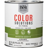 Do it Best Color Solutions Latex Self-Priming Semi-Gloss Interior Wall Paint, CS48W0801-14