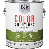 Do it Best Color Solutions Latex Self-Priming Semi-Gloss Interior Wall Paint, CS48W0801-16
