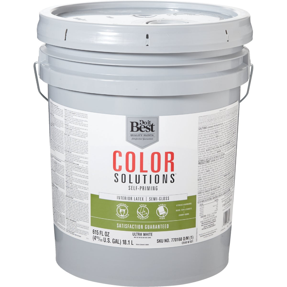 INT S/G ULTRA WHT PAINT - CS48W0801-20 by Do it Best